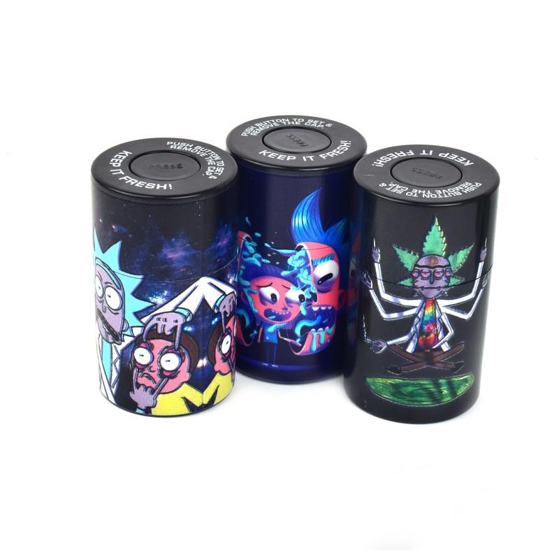 Airtight Stash Jar Multi-Use Vacuum Seal Portable Storage Container Pill Box Tobacco Box Smoking Pipe For Keep It Fresh 2