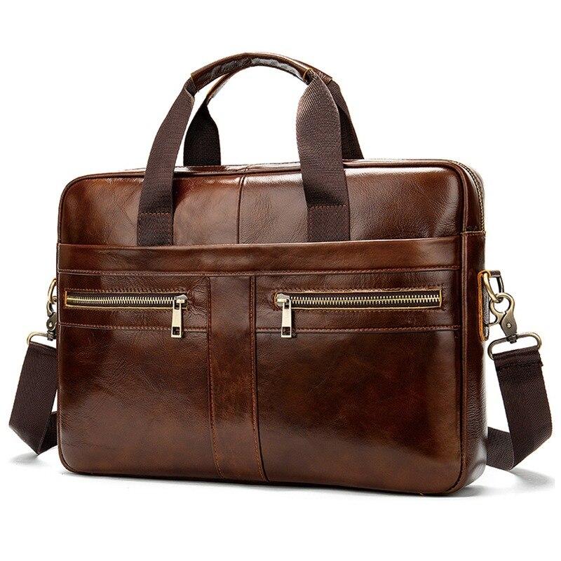 2020 Business Men PU Handbags Multifunction Messenger Casual Laptop Briefcase Fashion Shoulder Bag Waterproof Bags For Men