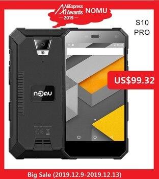 IP68 NOMU caliente S10 PRO 4G Smartphone 5,0