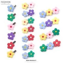2019 fresh girl flower plated edge clip cute children's tiara hairpin, delicate hair accessories beach tiara for women
