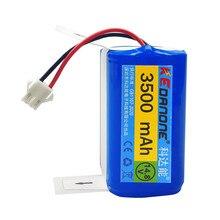Bateria li-ion de kedanone 14.4v 3500mah para conga excelência 990 ecovacs deebot n79 n79s dn622 eufy robovac 11 11s robovac 30 etc