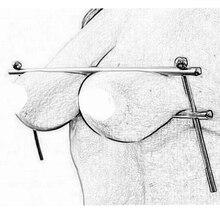 Adult Games BDSM Bondage Flirt Tools Nipple Clamps Stainless Steel Adjustable Br