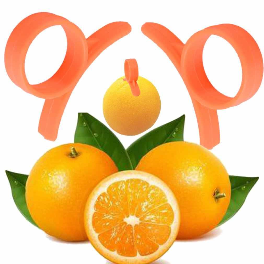 Pratico Arancione Peeler Conveniente Limone Frutta Affettatrice il Tipo di Suoneria Intelligente Aperto Arancione Dispositivo Romanzo Attrezzo Della Cucina