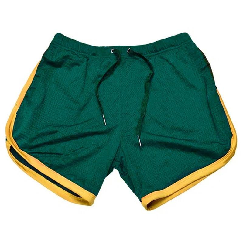 Running Shorts Men Gym Fitness Training GITF Quick Dry Beach Short Pants Male Summer Sports Workout Fitness Bottoms 10
