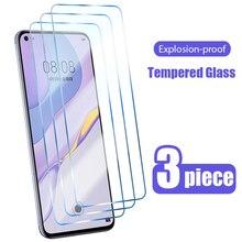 3 шт протектор экрана из закаленного стекла для Huawei P30 Lite P20 P40 Pro E 5G Защитная пленка для экрана для Huawei Mate 20 10 30 Pro P10 P8 P9 Lite 2017 стекло