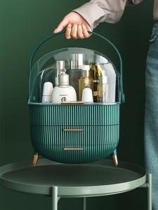 Storage-Box Drawer Makeup-Organizer Cosmetic Desktop Bathroom Beauty Waterproof Big-Capacity