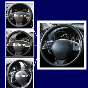 Image 5 - For Mitsubishi Outlander 2013 2014 2015 Mirage 2014 2015 Audio Radio Control Cruise Control Switch Steering Wheel Switch Button