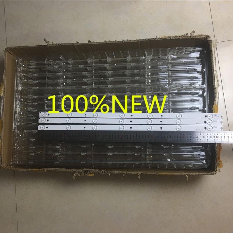 3PCS/lot 100%New 7 Lamps 614 Mm LED Backlight Strip  32PFS6401/12 32PFS6402/12 32PFT5500/12 Bars Kit TV 3 LED Line Bands HD Lens