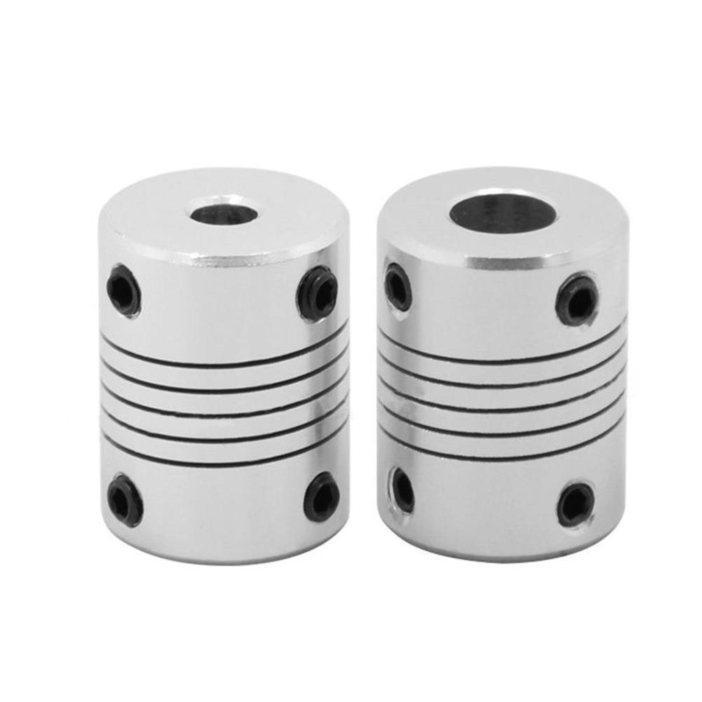 CNC Motor Jaw Shaft Coupler Flexible Coupling Connector 3D Printer Accessory