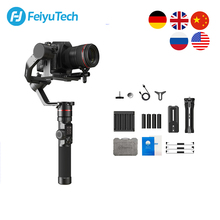 كاميرا FeiyuTech AK2000 DSLR مثبت فيديو انحراف محمول باليد أداة تثبيت لسوني كانون 5D باناسونيك GH5 نيكون 2.8 كجم الحمولة