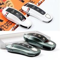 Pour IPhone11 identique minuit vert étui à clés clé couverture clé coque remplacer ajustement pour Porsche Panamera Boxster 911 Macan Panamera