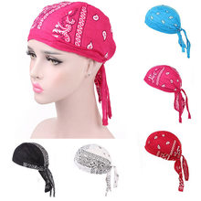 Unisex Quick Dry Hat Amoeba Pattern Viking Pirate Hat Outdoor Sport Cycling Cap Running Riding Bandana Headscarf Hat Headband(China)