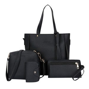 Four-piece Bag Luxury Handbags Women Bag