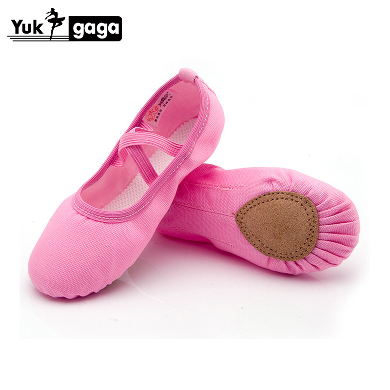 Ballet Slippers For Girls Classic Split-Sole Canvas Dance Gymnastics Baby Yoga Shoes Flats Kids Dance Shoe Women Ballerina