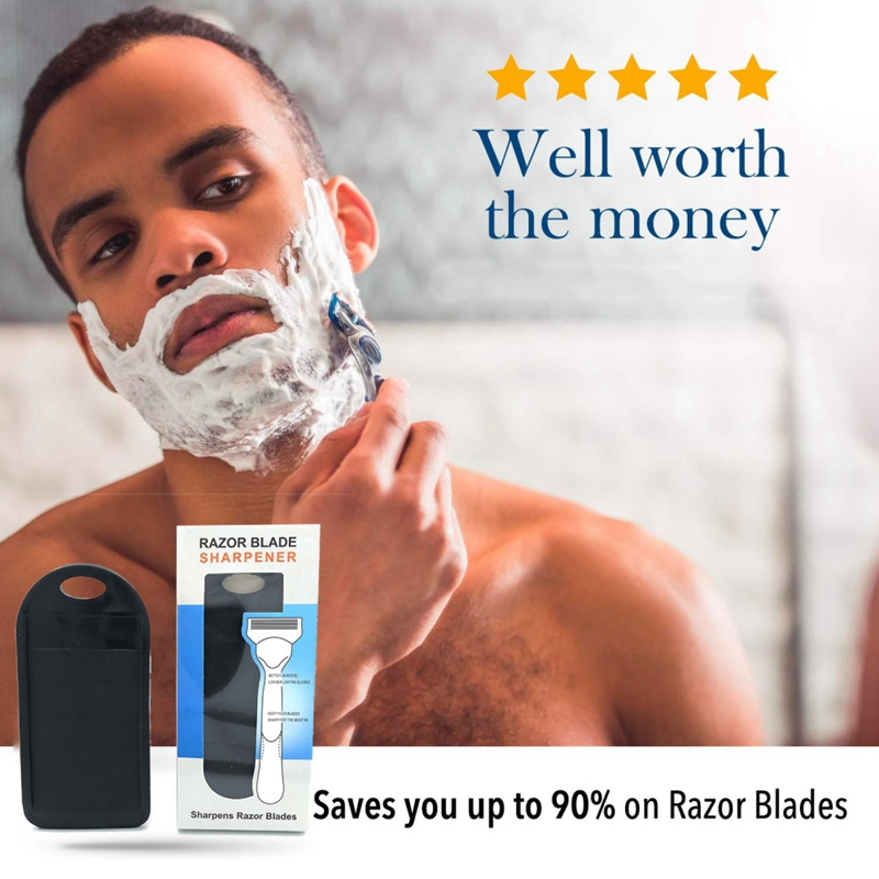 Men Woman Premium Safe Shaving Cream Long Lasting Razor High Quality Razor Blade Sharpener