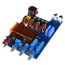 Placa amplificadora tpa3255 30v 48v, tpa3255 300w + áudio 2x150w módulo amp