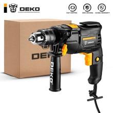 DEKO nouveau DKIDZ série 220V perceuse à percussion 2 fonctions électrique marteau rotatif perceuse tournevis outils électriques outils électriques