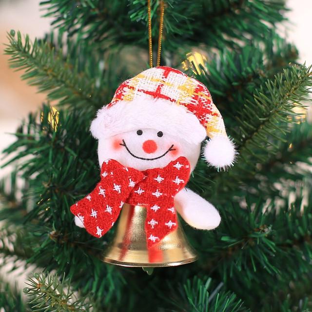 New Year 2020 Cute Santa Claus/Snowman/Angel Christmas Dolls Noel Christmas Tree Decoration for Home Xmas Navidad 2019 Kids Gift 70