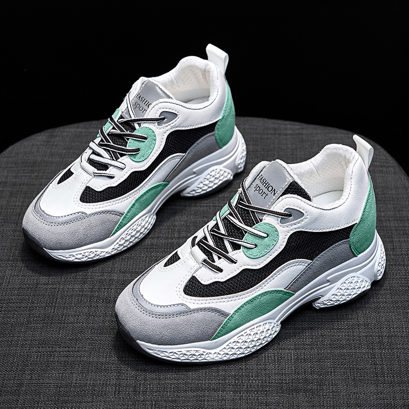 YRRFUOT Women Sneakers Comfortable Increased Within Woman Shoes Fashion 2020 New Zapatos Mujer Women Fashion Shoes Outdoor Soft