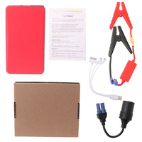 Portátil 20000mAh 12V USB multifunción Car Jump Starter Power Bank cargador de emergencia Booster batería dispositivo de inicio Arrancadores     -
