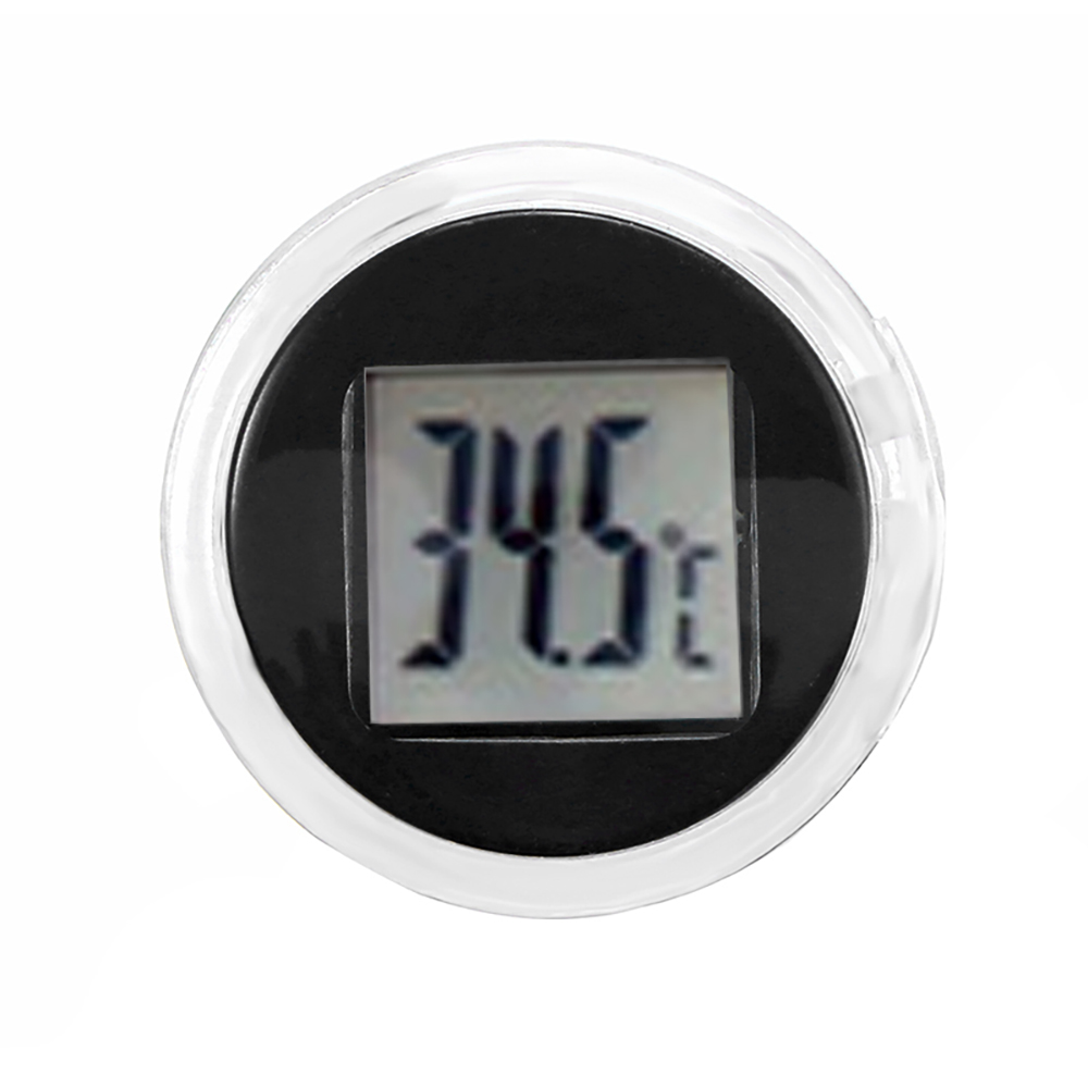 Mini termômetro digital para motocicleta, termômetro celsius digital de montar, à prova d água, moto, acessórios