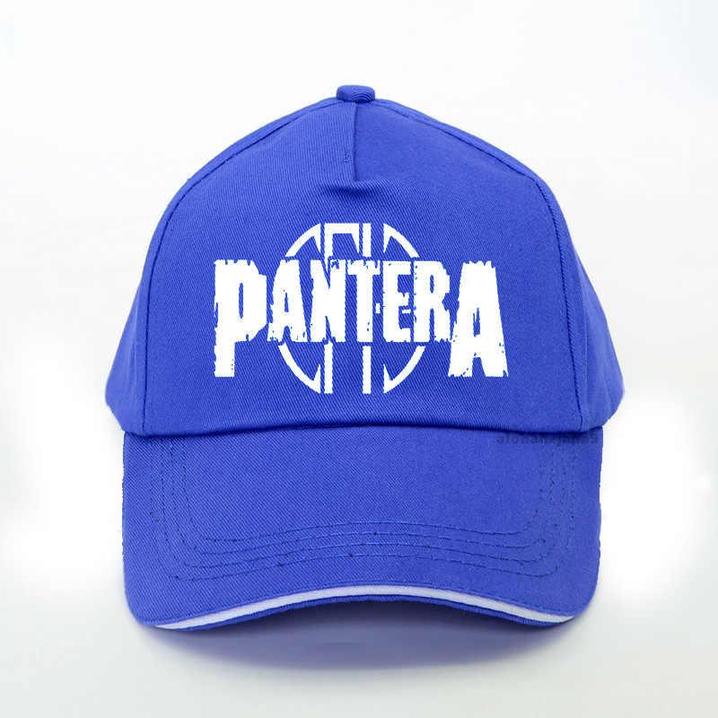 Pantera Logo Snapback Hoed Amerikaanse Heavy Metal Rock Band Baseball Cap Mannen Vrouwen Zomer Rock Trucker Cap Bone
