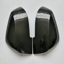 Kibowear עבור BMW F30 F31 F20 F21 F22 F23 F32 (פחמן מראה) מראה מכסה כובעי F33 F34 X1 E84 צד כנף 1 2 3 4 להחליף 2014