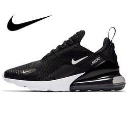 Оригинальная продукция Nike AIR MAX 270 для мужчин's кроссовки Открытый Спорт Прочный Бег Спортивная обувь Прогулки Новое поступление 2018 года для
