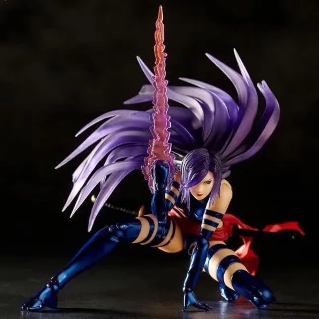 Anime Amazing Yamaguchi Psylocke Moveable <font><b>X</b></font>-Men Series 1/7 scale PVC action figure model <font><b>sexy</b></font> girl Tony Toys Collectible Doll image