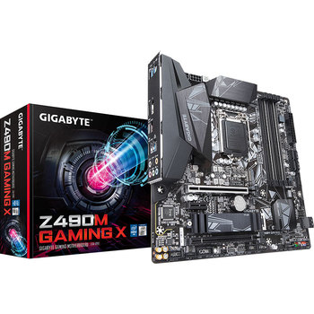 AORUS Z490M GAMING X motherboard + I7-10700K CPU motherboard + CPU set