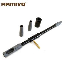 Armiyo. 17Cal. 30Cal Universele Boring Gids Voor Rifle m4 Gun Barrel Brush Cleaner Auxiliary Tool Jacht Accessoires(China)