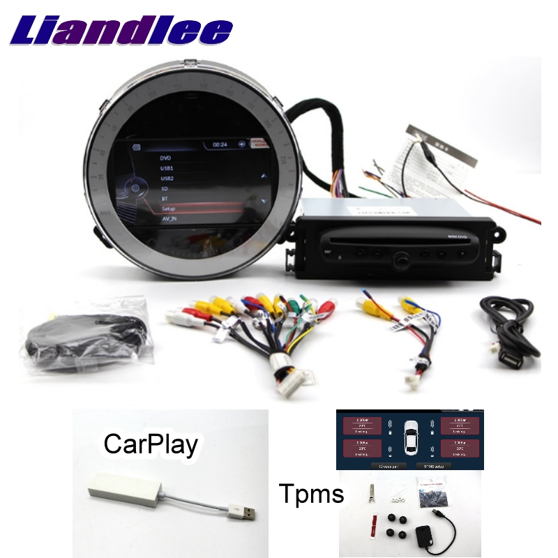 Lecteur multimédia de voiture Liandlee NAVI pour Mini Countryman One Cooper S D R60 CarPlay TPMS système de Navigation stéréo GPS CE