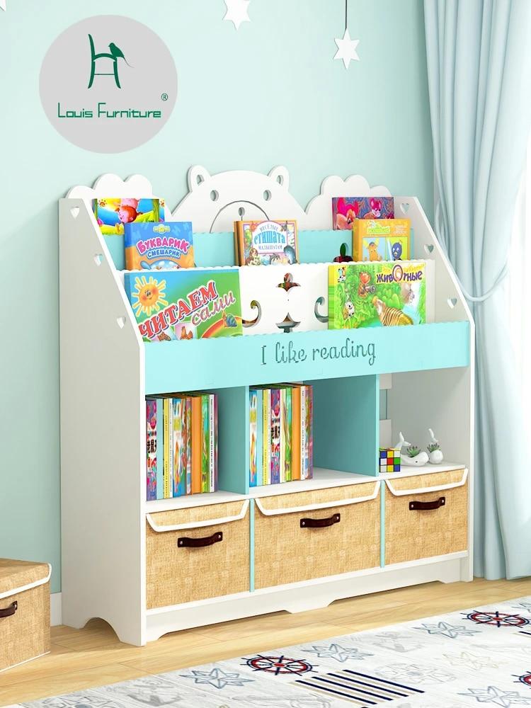 louis fashion bibliotheques pour enfants cadre de rangement simple pour fenetre flottante et etagere pour livre d images economique