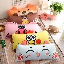 Childrens Bed Cartoon Animal Big Pillow Kids Room Filling Soft Comfortable Pillows Sleeping