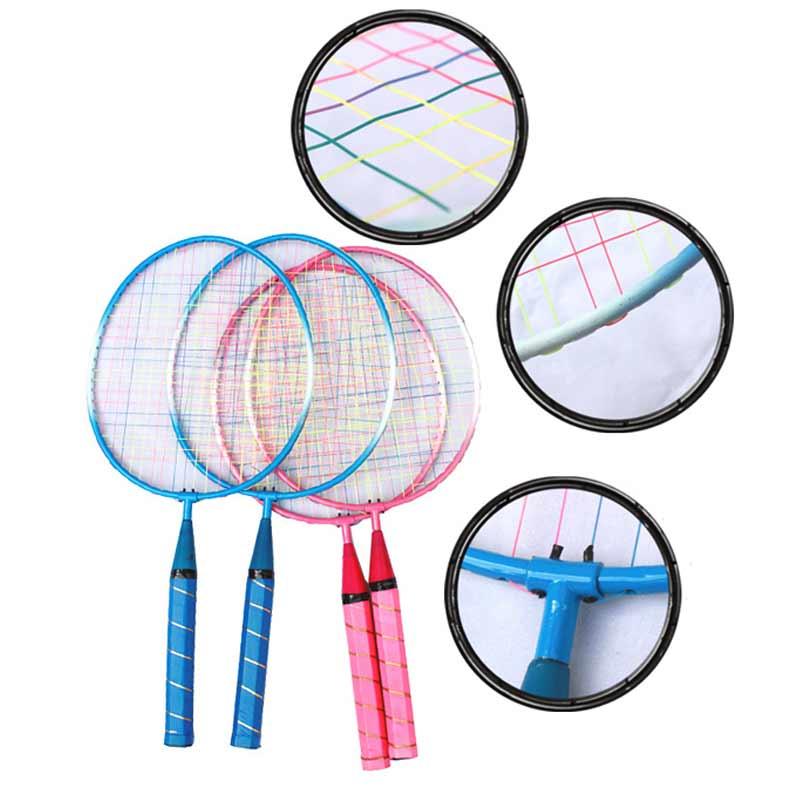 1 Pair Youth Children's Badminton Rackets Sports Cartoon Suit Toy For Children  ENA88