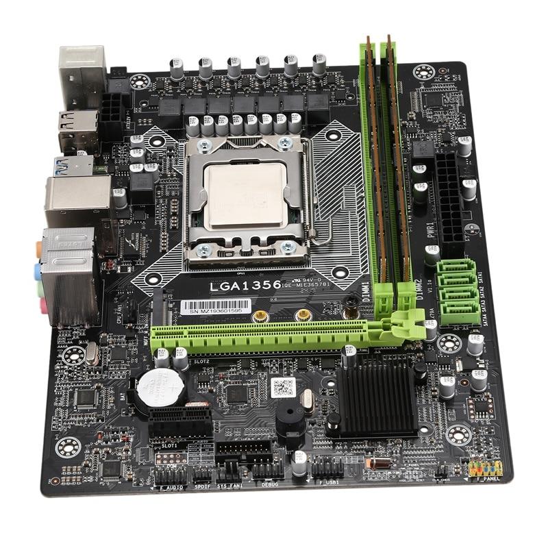 X79A набор материнских плат с LGA 1356 E5 2420 C2 2X8GB = 16 Гб 1600 МГц DDR3 память ECC Reg