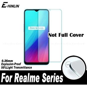 Перейти на Алиэкспресс и купить 2.5D Защита экрана для OPPO Realme Narzo 10 10A Q C3 C3i C2 C1 C11 U1 X Lite Global Закаленное стекло Защитная пленка