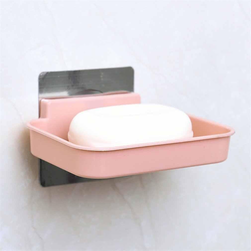Porte-savon à la mode moderne à la maison porte-savon forte ventouse Type savon panier plateau organisateur livraison directe