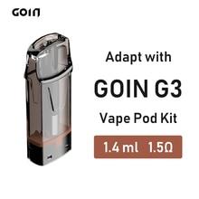 GOIN Disposable Electronic Cigarette Cartridge for CBD Oil Vape Pod Kit with Honeycomb Ceramic Atomizer