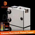 Dforce PT100 вулканический медный тепловой блок для E3d Volcano hotend 3d блок нагревания принтера forBMG экструдер TItan
