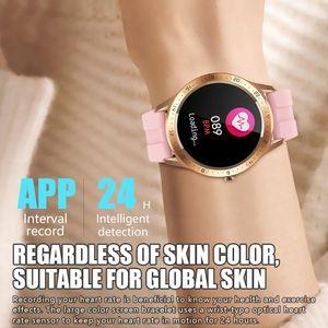 Image 2 - SENBONONew ساعة ذكية تعمل باللمس للرجال ، ساعة ذكية رياضية S21 مع التحكم في الصور ، معلومات الطقس لنظامي Android