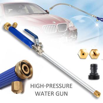 Pistolet na wodę pod wysokim ciśnieniem metalu pistolet na wodę wysokociśnieniowa myjnia samochodowa Spray myjnia samochodowa narzędzia ogrodowe strumień wody pod ciśnieniem myjka ciśnieniowa tanie i dobre opinie CN (pochodzenie) Lances High Pressure Washer Ogród pistolety wodne Aluminium Aluminium Alloy(body) + Copper(Nozzle head) + TPR(handle)