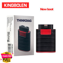 Thinkcar Thinkdiag New Boot Full Software Reset 1 Year OBDII EOBD Code Reader Easydiag Android/IOS Scanner OBD2 Diagnostic Tool