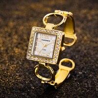 Neue Luxus Gold Uhr Für frauen Quarz Uhren Edelstahl Retro Diamant Damen Mode frauen Armbanduhr Uhren Mujer