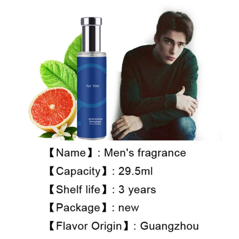 Pheromone Flirt Perfume 29.5ML for Men Body Spray with Pheromones Attract Women