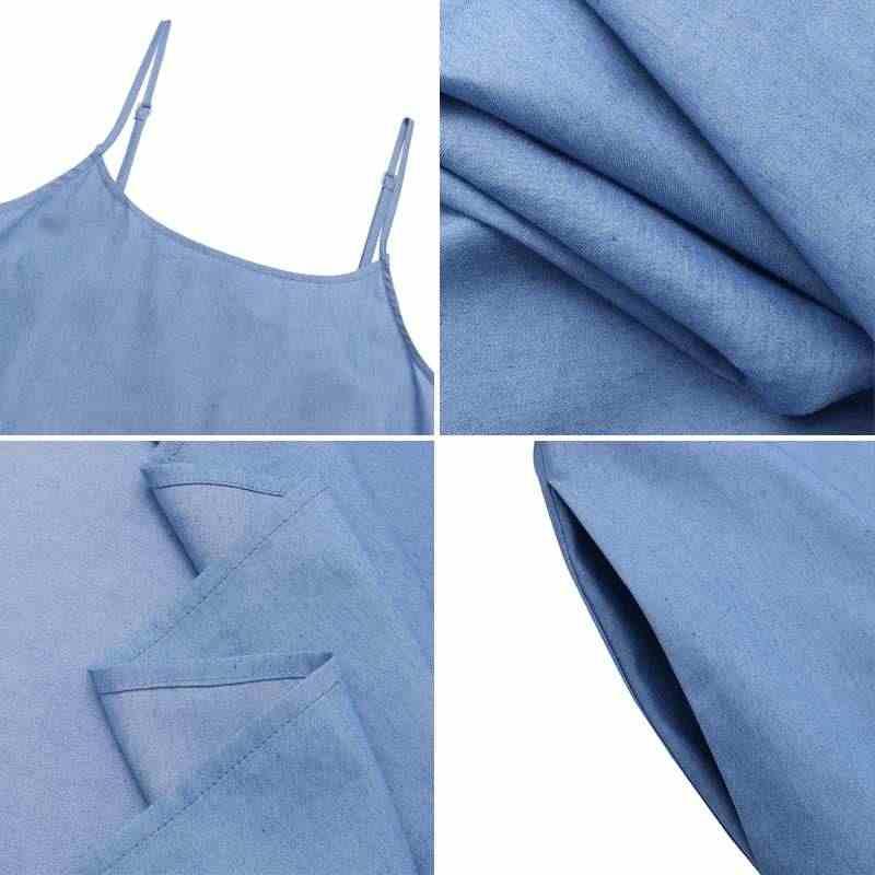 2020 Casual Vestidos Zomer Zonnejurk Zanzea Maxi Lange Jurk Vintage Solid Pockets Losse Jurk Robe Femme Vestidos Gewaad Plus Size