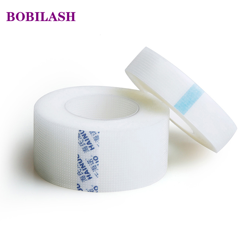 9 Meters Adhesive Tape for Eyelash Extension PE Breathable Lash White Paper for False Lashes Medical