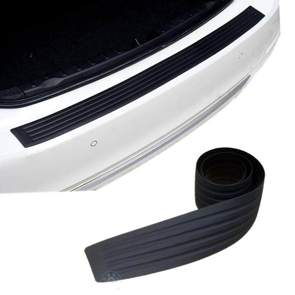 Universal Trunk Door Sill Guard Sleeve Bumper Rubber Decorative Strip Rear Guard Rubber Molding Pad Sheath Trim Panel