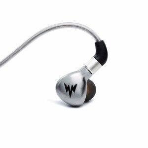 Image 2 - الرياضة سماعات أذن باص A15 ايفي باس مرحبا الدقة سماعات معدنية في الأذن سماعات ديناميكية مرحبا الدقة سماعات MMCX موصل 3.5 مللي متر السلكية