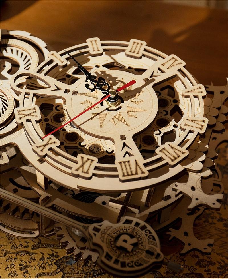 robotime owl clock